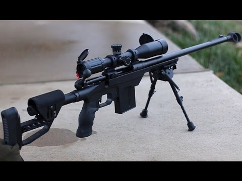 Armslist tries the MDT Light Sniper System on a Savage .308