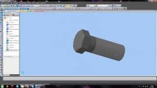 Простое моделирование болта в Компас 3D.(Привет, ребята)) Это вторая часть урока. в которой мы смоделируем простой болт с шестигранной головкой., 2013-11-27T12:28:39.000Z)