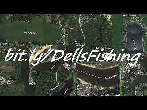 Wisconsin Dells Fishing Report 12-19-14 LyubakaVideo