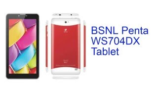 BSNL Penta WS704DX Tablet Specification [INDIA]