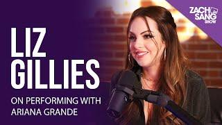 Liz Gillies on Performing w/ Ariana Grande