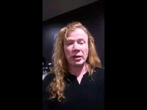 Megadeth - Dave Mustaine en Periscope - Brisbane Australia 2015