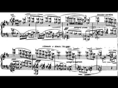 Alban Berg  Piano Sata, Op 1
