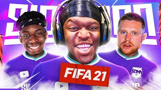 THE SIDEMEN PRO CLUBS JOURNEY BEGINS... (Sidemen FIFA 21 Pro Clubs)