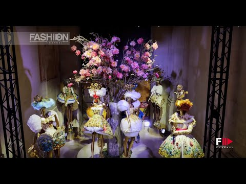 GUO PEI Couture - Museum of Decorative Arts n Paris July 2015 by Fashion Channel
