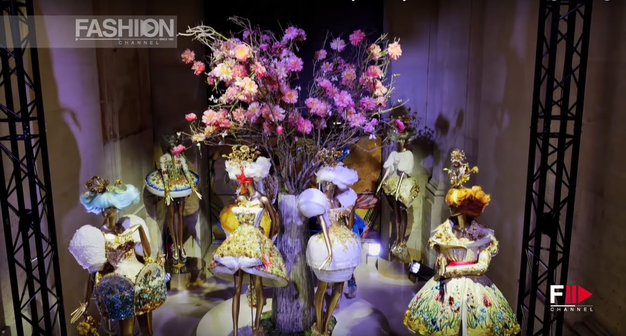 Guo Pei Couture Museum Of Decorative Arts N Paris July 2015 By