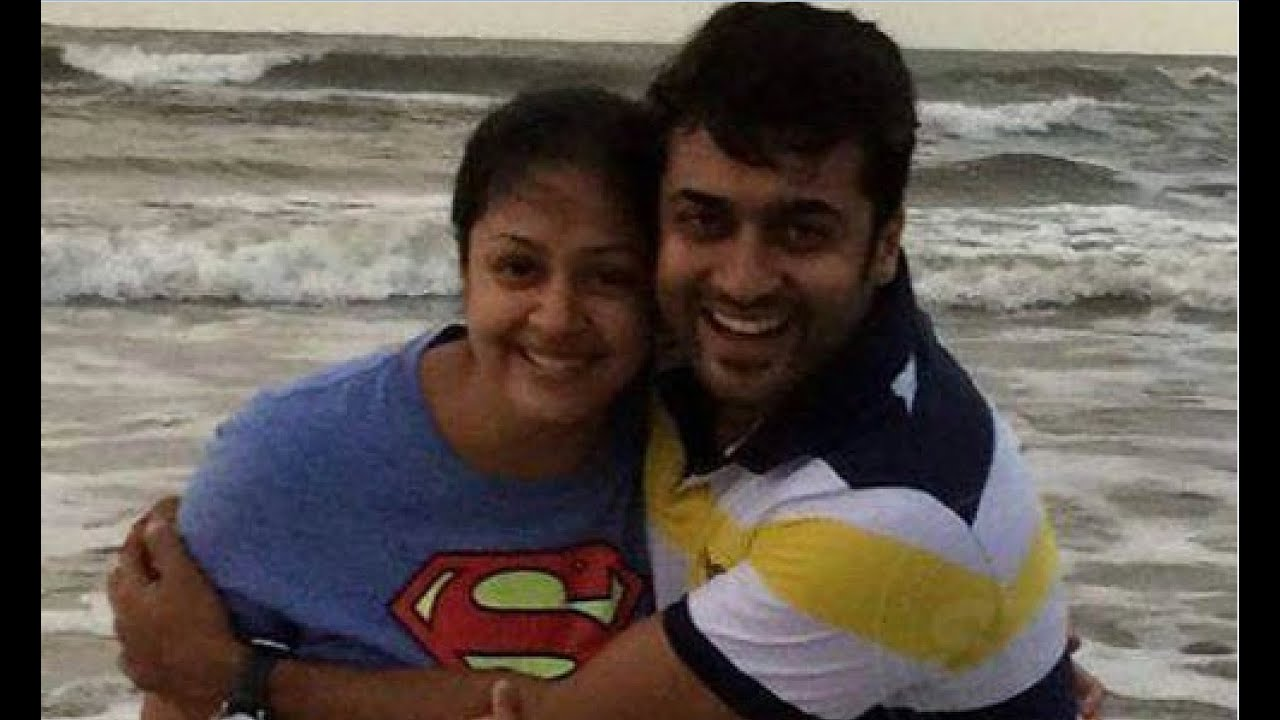 Tamil Actor Surya And Jyothika Family Photos And Unseen Private Pics