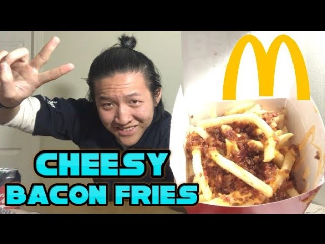 Mcdonalds New Cheesy Bacon Fries Food Review 261
