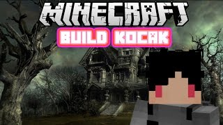 Minecraft Indonesia - Build Kocak (12) - Rumah Hantu!