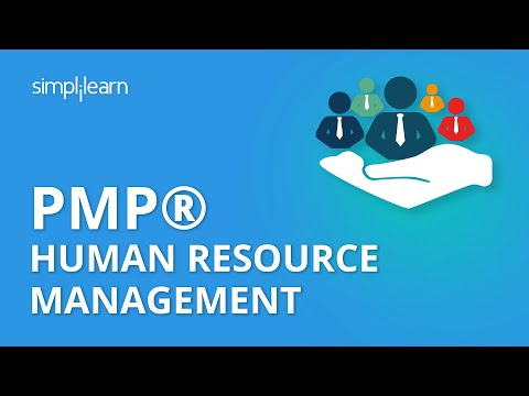 PMP® Human Resource Management - Project Management Human Resources Management - Simplilearn - 동영상