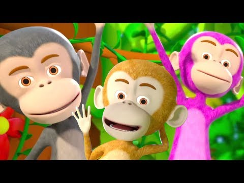 Five Little Monkeys Jumping on the Bed | Kids Rhymes & Sing Along Songs by Little Treehouse