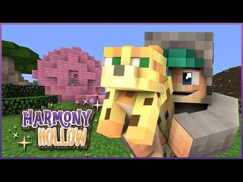 THE CAT SANCTUARY!- Minecraft: Harmony Hollow SMP - S4 Ep.12