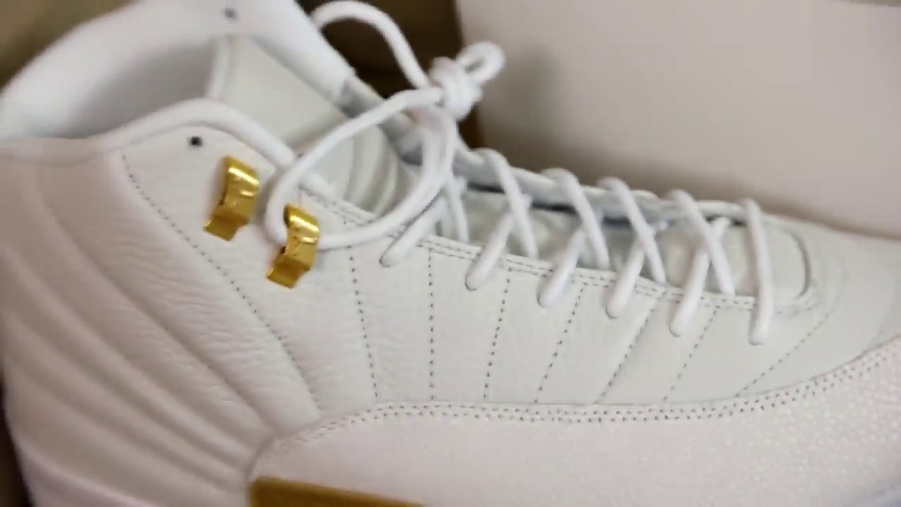 pretty nice 5d9a0 2bb3b Air Jordan 12 Ovo 12 White Jordan 12 Ovo Real vs Fake tips and review Video  Retro 2016