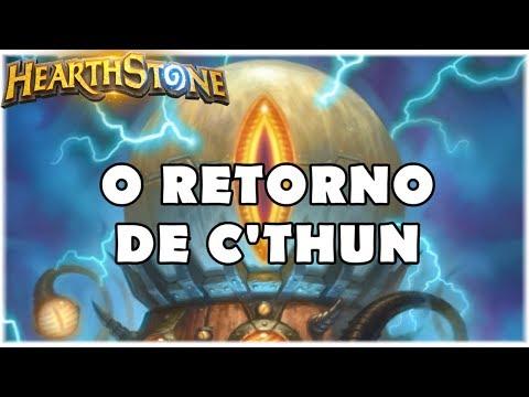 HEARTHSTONE - O RETORNO DE C'THUN! (STANDARD MECHA'THUN WARLOCK)