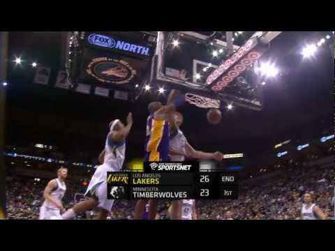 Kobe Bryant's Rack Attack in Minnesota