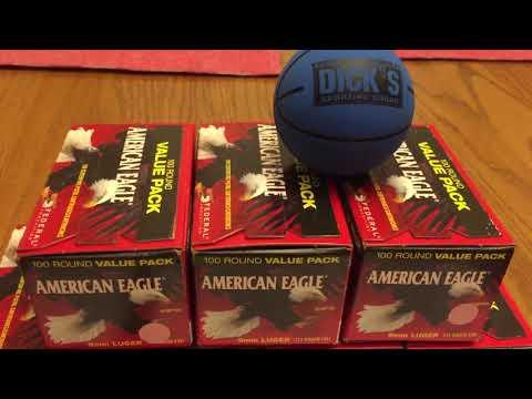 American Eagle 9mm Score