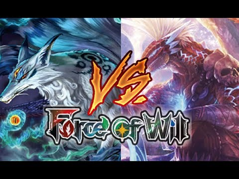 Force of Will (TCG) Feature Match: Team Memoria Fox vs. OGRE Kirik Agro