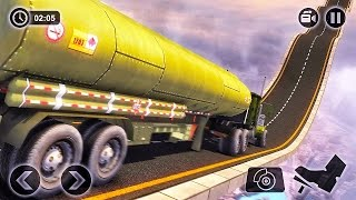 Army Truck Hard Tracks Driving-Best Android Gameplay HD #4