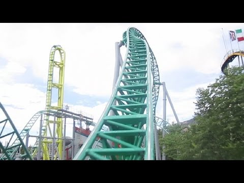 Wicked front seat on-ride HD POV Lagoon