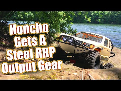 Extra Hard Steel Output Gear Upgrade- Axial SCX10 II Trail Honcho - RC Quick Drive No.2  | RC Driver