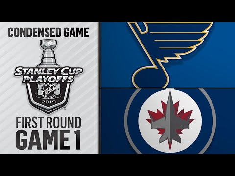 04/10/19 First Round, Gm1: Blues @ Jets