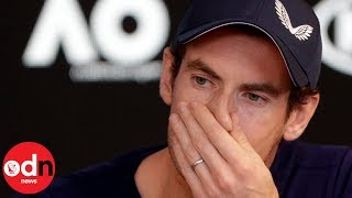 Andy Murray breaks down in tears as he announces retirement from tennis