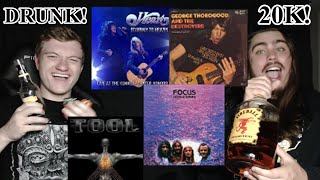 College Students' DRUNK REACTION | Heart | George Thorogood | Focus | Tool!