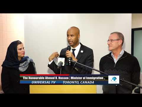 WASIIRKA SOCDALKA IYO JINSIYADAH MUDANE AHMED HUSSEN  DALKA CANADA DEEQ LACAG UGU DEQDAY SOMALIYA