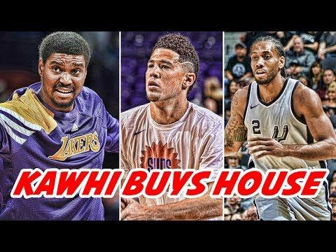 DEVIN BOOKER IS HURT! KAWHI LEONARD BUYS HOUSE IN TORONTO! ANDREW BYNUM COMEBACK! | NBA NEWS