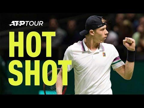 Hot Shot: Shapovalov's Unreal Lob Against Wawrinka In Rotterdam 2019