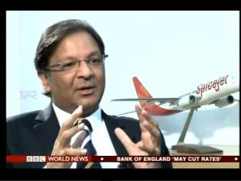 BBC News India in a conversation with Mr. Ajay Singh, Founder and Managing Director - SpiceJet Ltd.