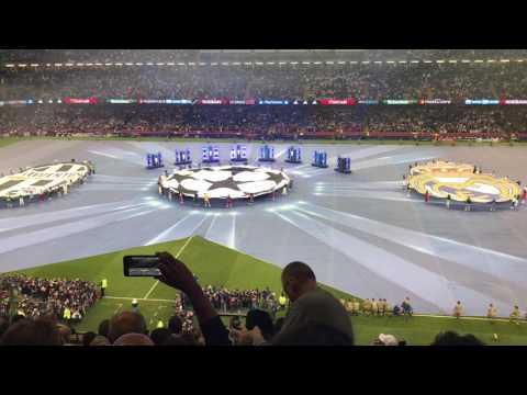 Final UEFA champions league 2017 - Anthem