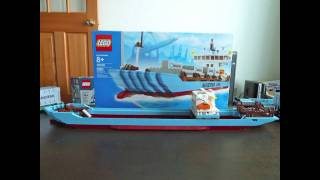 LEGO 10155 Maersk Container Sh…