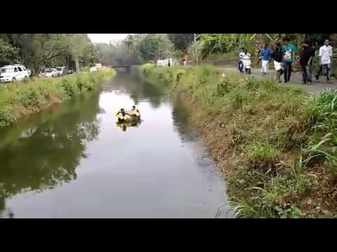 Kothamangalam Wedding Ragging 😀Funny Bride and Groom sailing in Canal video