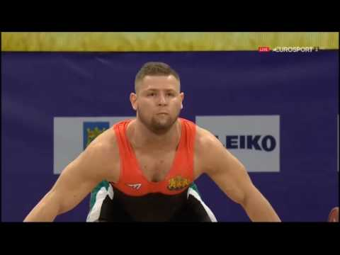 2017 European Weightlifting 77 kg Group A