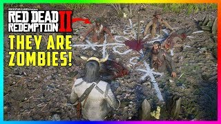 What Happens If You Sacrifice Multiple Bodies At The Pagan Ritual Site In Red Dead Redemption 2?