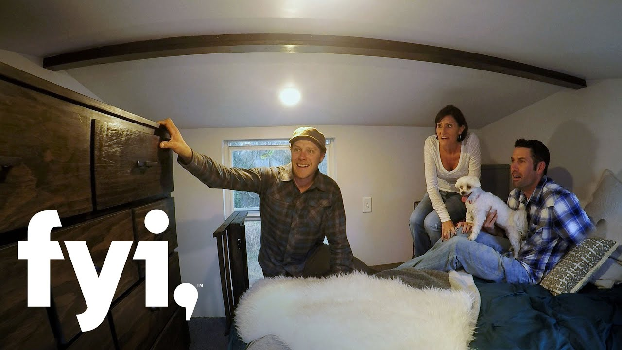 tiny house nation: prioritizing privacy (s3, e1) | fyi - youtube