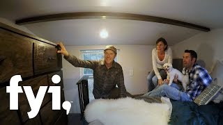 Tiny House Nation: Prioritizing Privacy  S3, E1  | Fyi