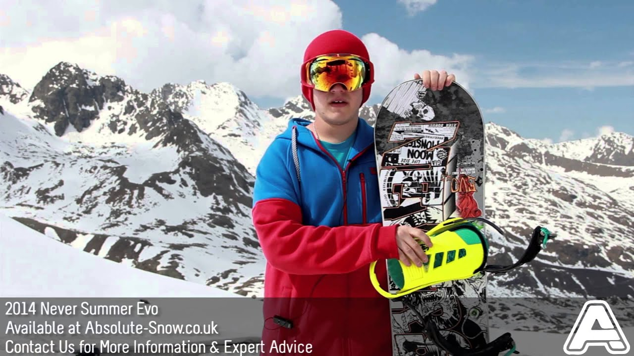 2013 2014 never summer evo 4 0 snowboard video review youtube. Black Bedroom Furniture Sets. Home Design Ideas