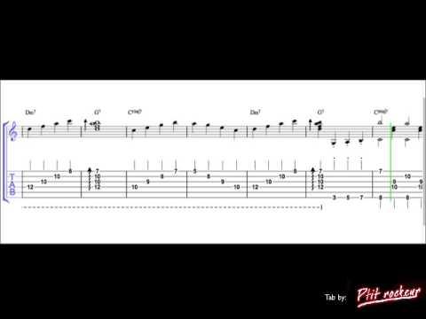 Mr sandman (Chet Atkins) guitar Tab