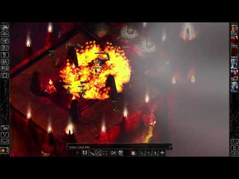 BG EE: Siege Of Dragonspear - Belhifet Boss Fight