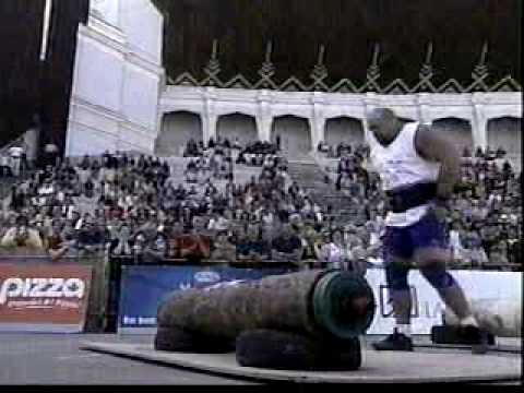 2004 Strongman World Championships - Log Press