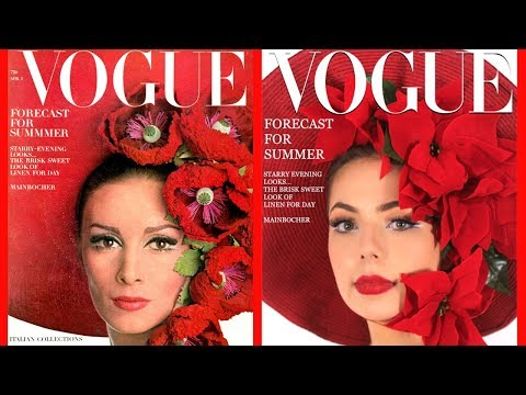 Recreating Vogue Covers Through The Decades!