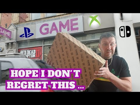 SHOULD YOU BUY A PRE-OWNED CONSOLE FROM GAME?