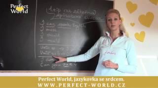 """Jak na zákeřná """"způsobová slovesa""""?   Perfect World"""