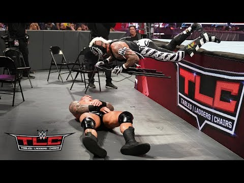 Rey Mysterio finds an innovative use for a steel chair in his clash with Randy Orton: WWE TLC 2018