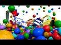 Tiny World : Street Vehicles Ambulance Police Car Fire Truck - Cartoons for kids - Live