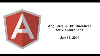 AngularJS & D3: Directives for Visualizations