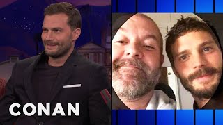 A Fan Asked Jamie Dornan For A Photo At A Urinal  - CONAN on TBS