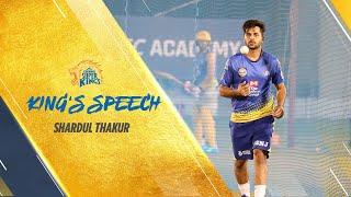 King's Speech - Ft. Shardul Thakur #Whistlepodu #Yellove